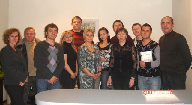 Семинар в Днерпопетровске: