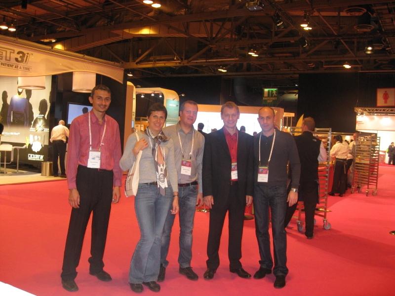 Конгресс европейской ассоциации остеоинтеграции, Глазго (Шотландия)